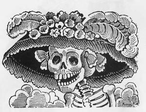 catrina mexico parca muerte