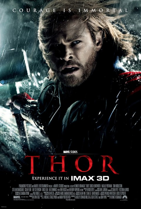 El poderoso dios del trueno de Asgard Thor