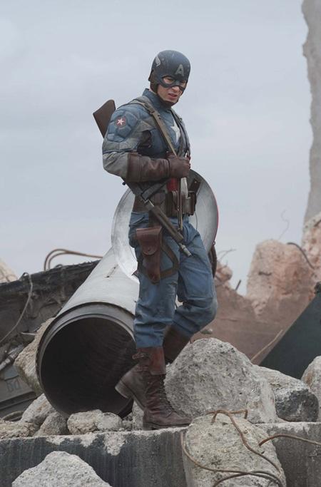Capitán América el Primer Vengador.