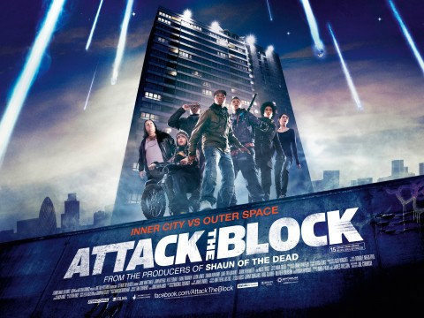 Attack The Block el Poster