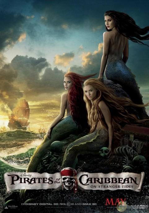 Las Sirenas de los Piratas del Caribe!
