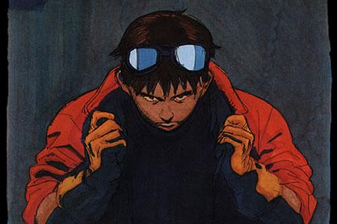 Kaneda en Akira la Pelicula