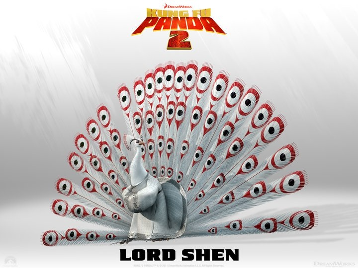 Lord Shen en Kung Fu Panda 2