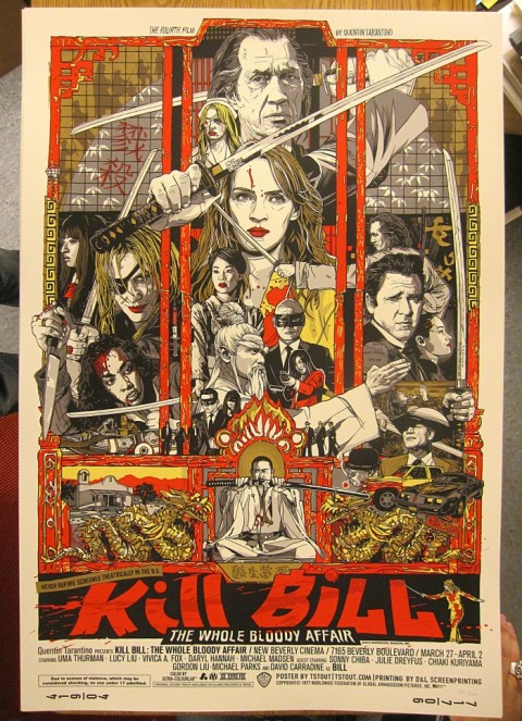 Kill Bill The Whole Bloody Affair por Tyler Stout