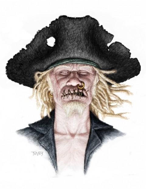 Zombies Piratas en Aguas Misteriosas con viento a la Michael Jackson
