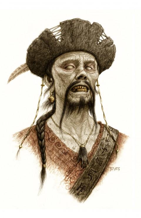 Zombies Piratas en Aguas Misteriosas ahora también versión asiática