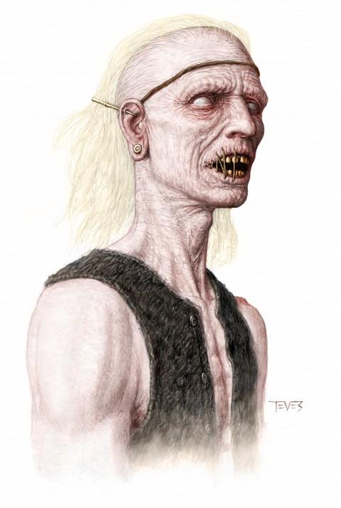 Zombies Piratas en Aguas Misteriosas con mucho sentido de la moda