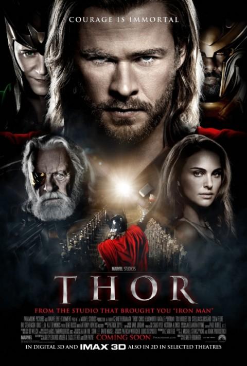 Primer Poster de Thor Internacional