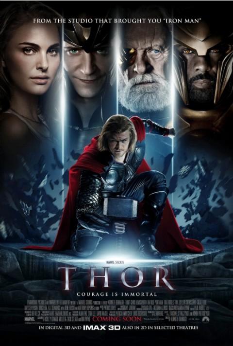 El segundo Poster de Thor Internacional