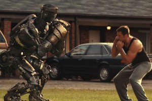 Real Steel con Hugh Jackman