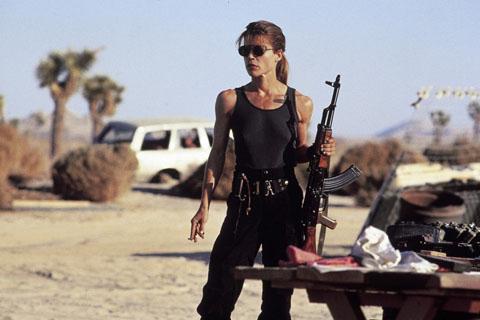 Sarah Connor madre de Christian Bale!