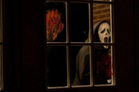 Ghost Face viendo pa dentro