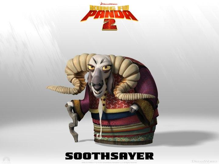 Soothsayer en Kung Fu Panda 2