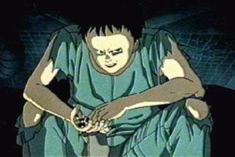 Tetsuo en Akira la Pelicula