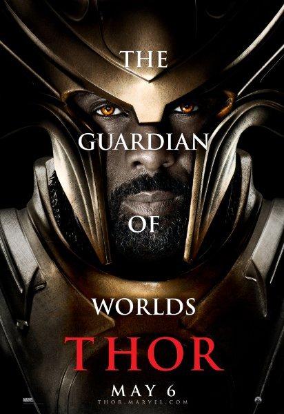 La diosa de la guerra y la novia de Thor en Asgard