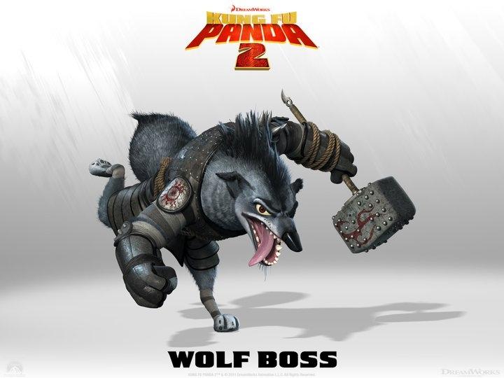 El Jefe Lobo en Kung Fu Panda 2