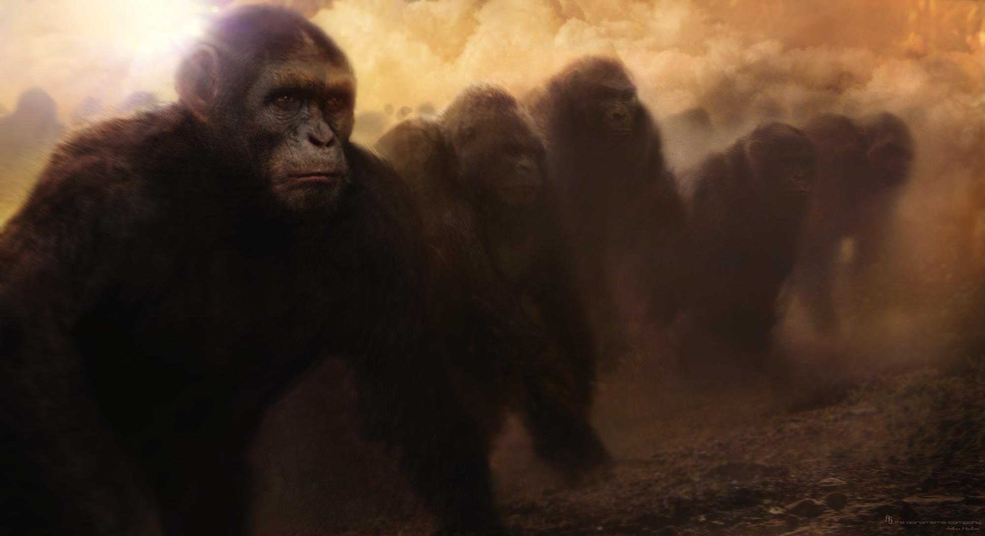 La Rebelion del Planeta de los Simios