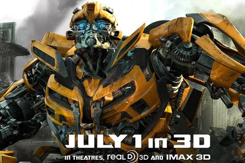Bumblebee en Transformers 3