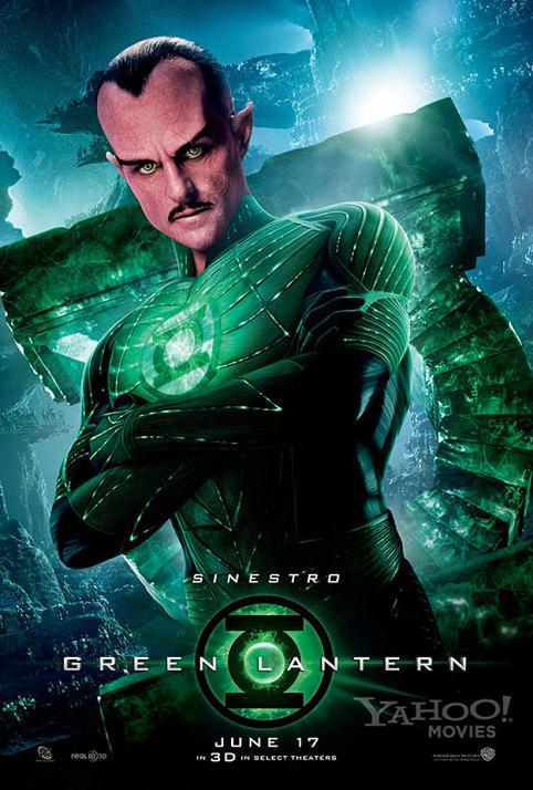 Uno de los Green Lantern Coprs