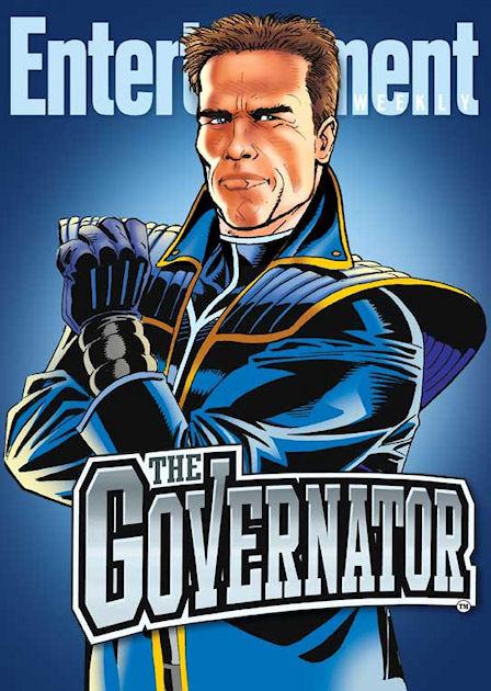 Arnold se toma en serio su apodo de el Governator