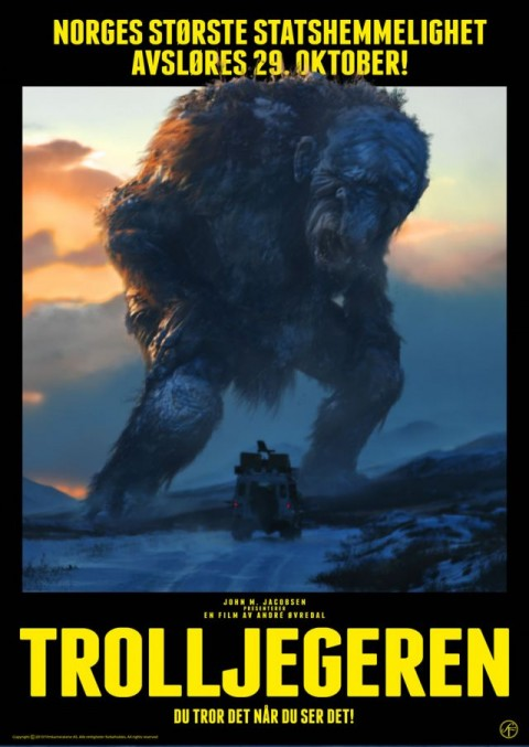 poster de troll hunter