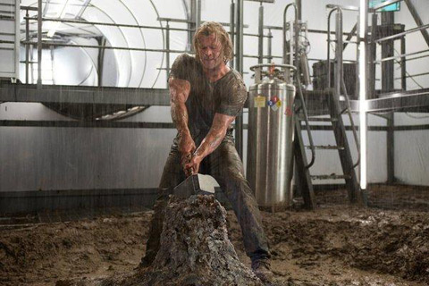 chris hemsworth thor huntsman