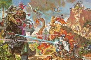 dinoriders dominion dinosaurs versus aliens