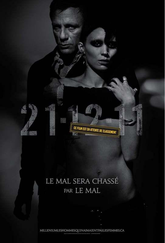 Poster La Chica con el Tatuaje de Dragon