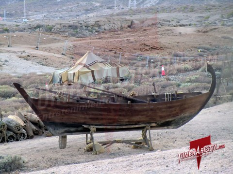 Fotos desde el Set de Wrath of the Titans Barcaza