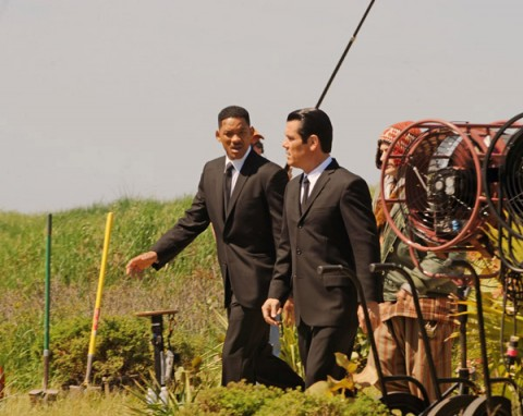 Will Smith y Josh Brolin Men In Black 3