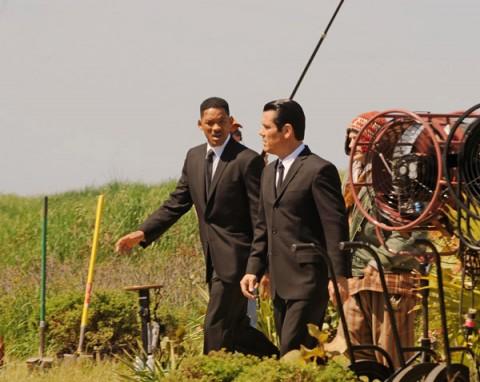 Will Smith y Josh Brolin Men In Black 3