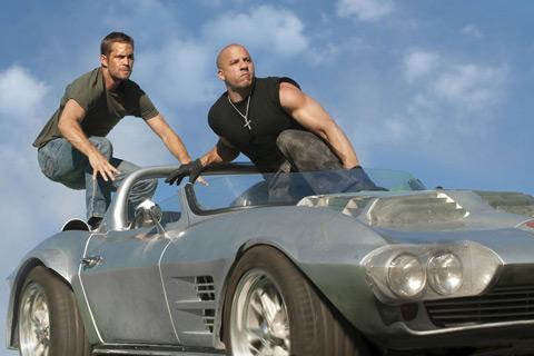 Fast Five Paul Walker Vin Diesel