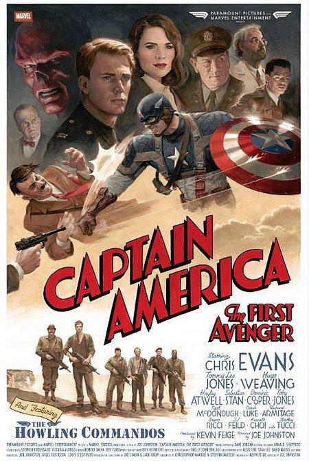 Captain america firts avenger