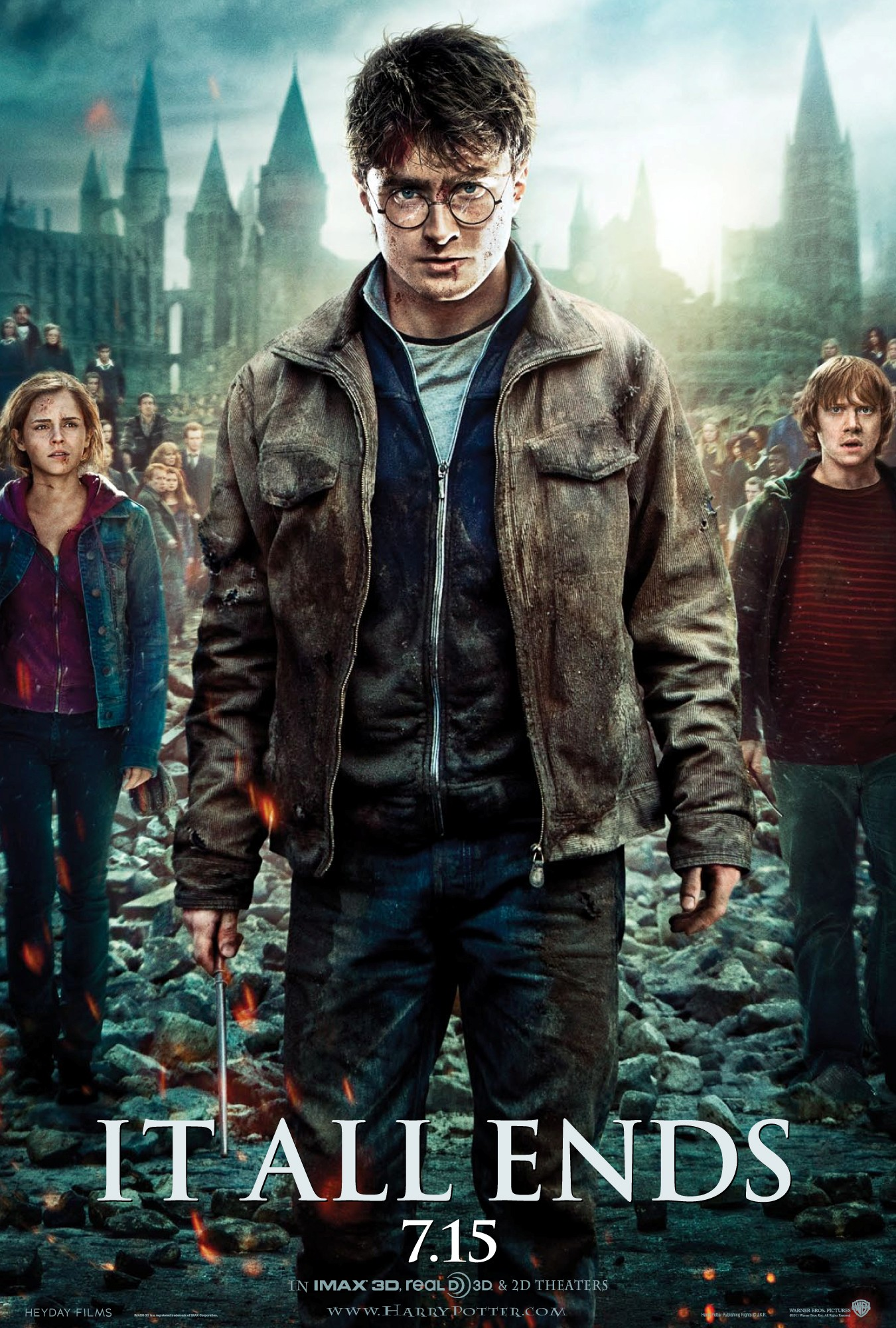 Harry Potter Todo Termina Final Good Guys
