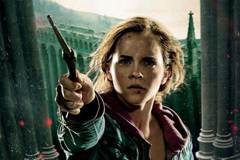 Hermione en acción
