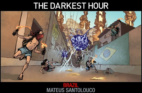 The Darkest Hour Brasil Concept Art