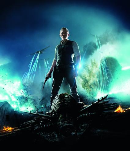 Daniel Craig Vaqueros y Aliens
