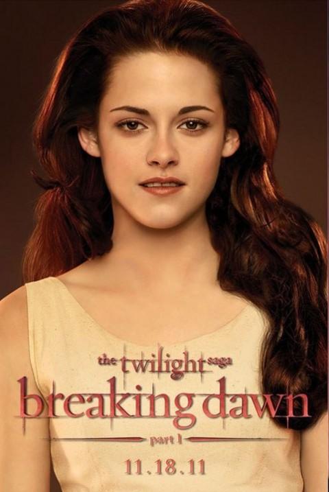 Bella Swan Kristen Stewart Amanecer Poster