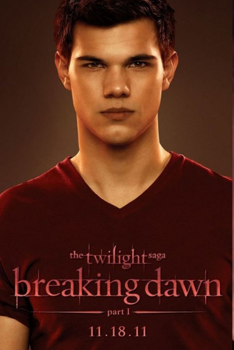 Jacob Black Taylor Lautner Amanecer Poster