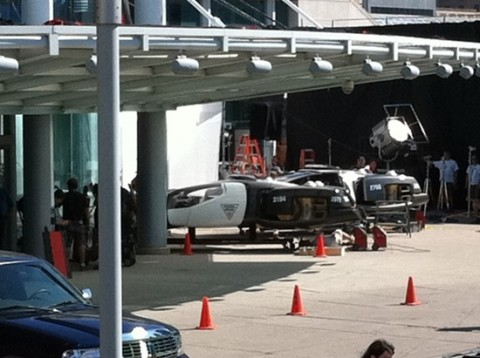 Total Recall Set Photos