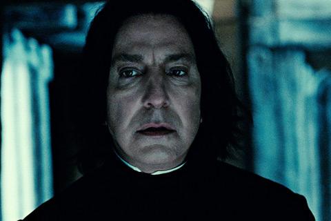 Alan Rickman Severus Snape Harry Potter y las reliquias de la muerte parte 2