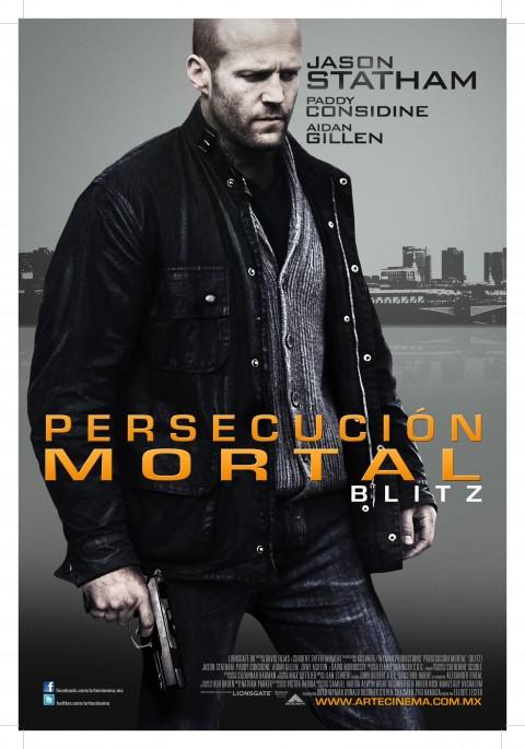 Poster Persecución Mortal