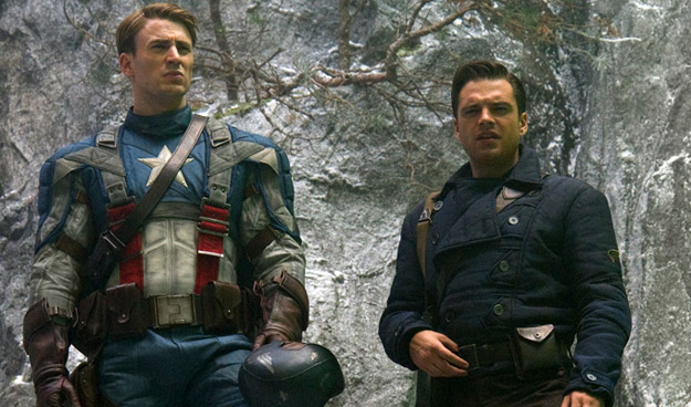 El capi y su mejor amigo Bucky