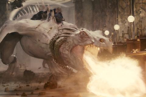 Dragon Harry Potter y Las Reliquias de la Muerte Parte 2
