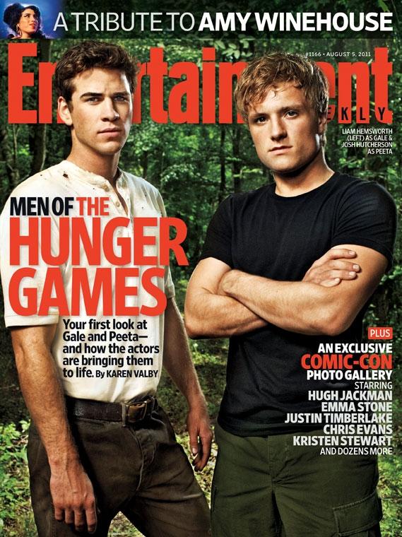 Peeta y Gale