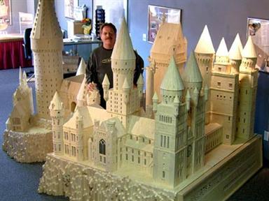 Hogwarts y eso que es una miniatura