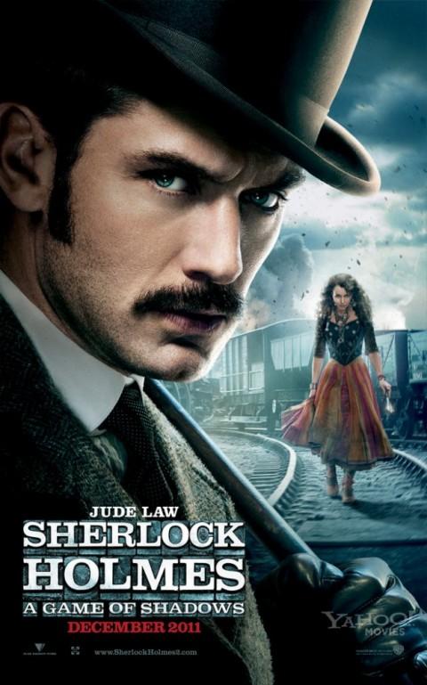 Jude Law Watson Sherlock Holmes A Game of Shadows