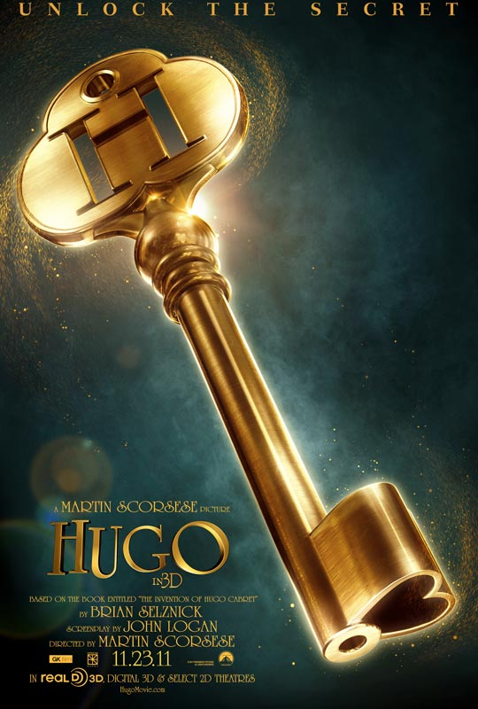 Poster Hugo Cabret Martin Scorsese