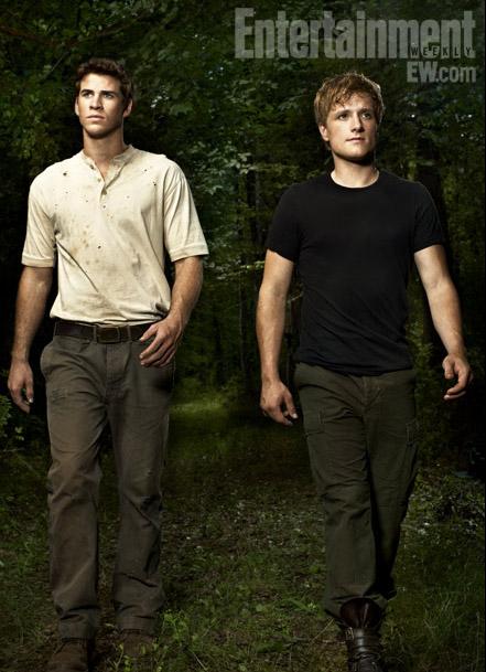 Peeta y Gale, lucharan por el amor de Katniss