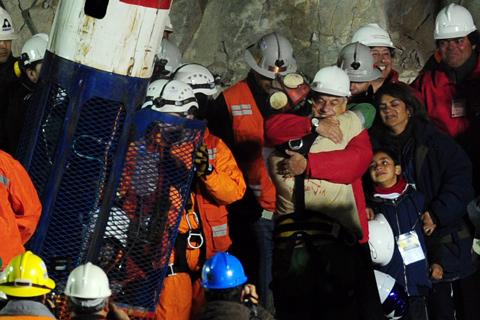 Mineros de Chile Rescate